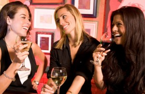 Three-Women-Drinking-Wine460x300