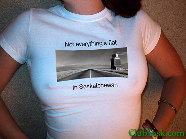 Flat in Saskatchewan (Not)
