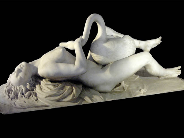 Horny-Swan-Sculpture