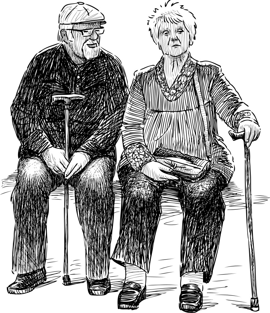 The Incompatible Elderly Couple